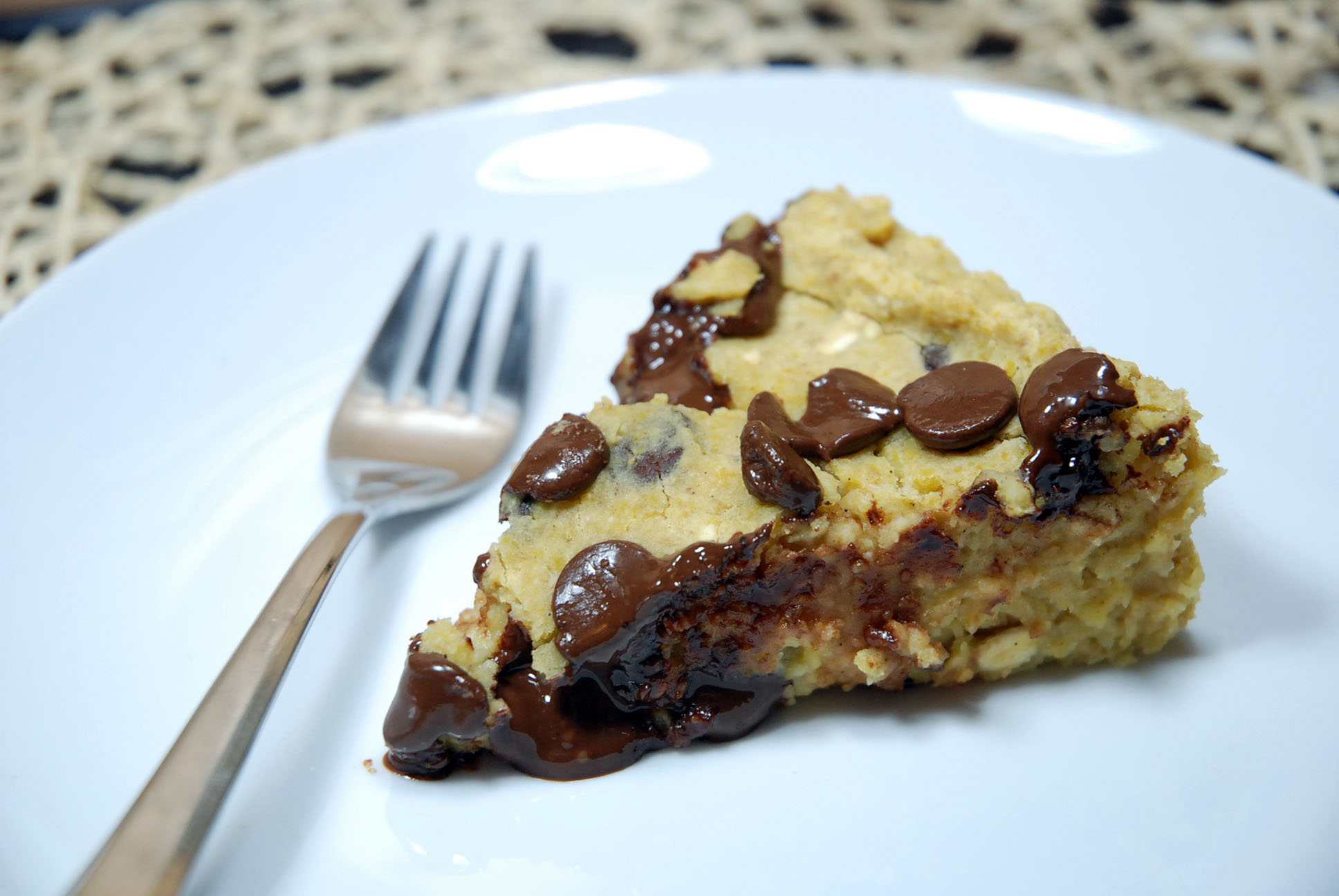 Cake With Dates And Chocolate Chips