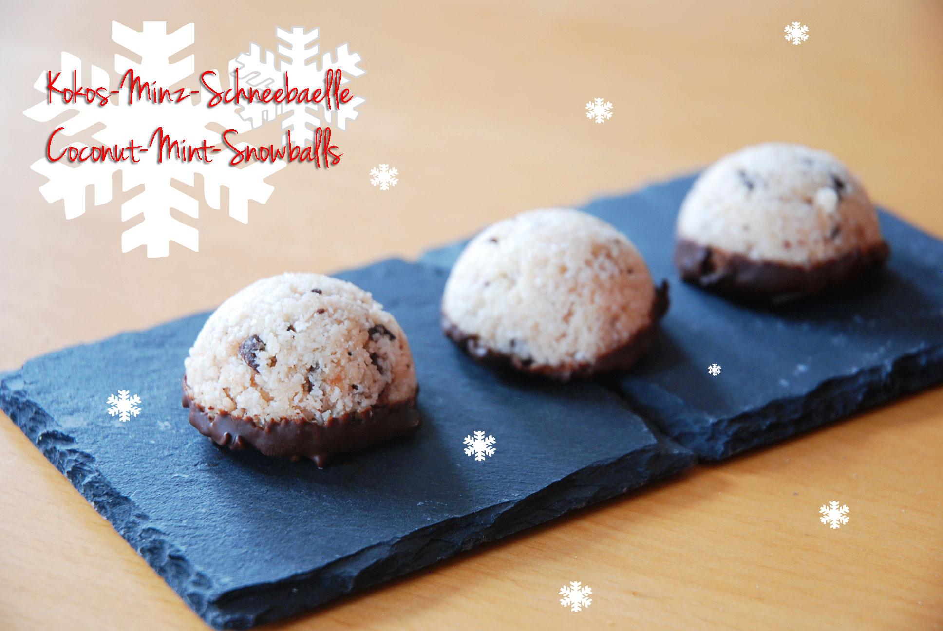 Kokos-Schneebälle / Coconut snowballs