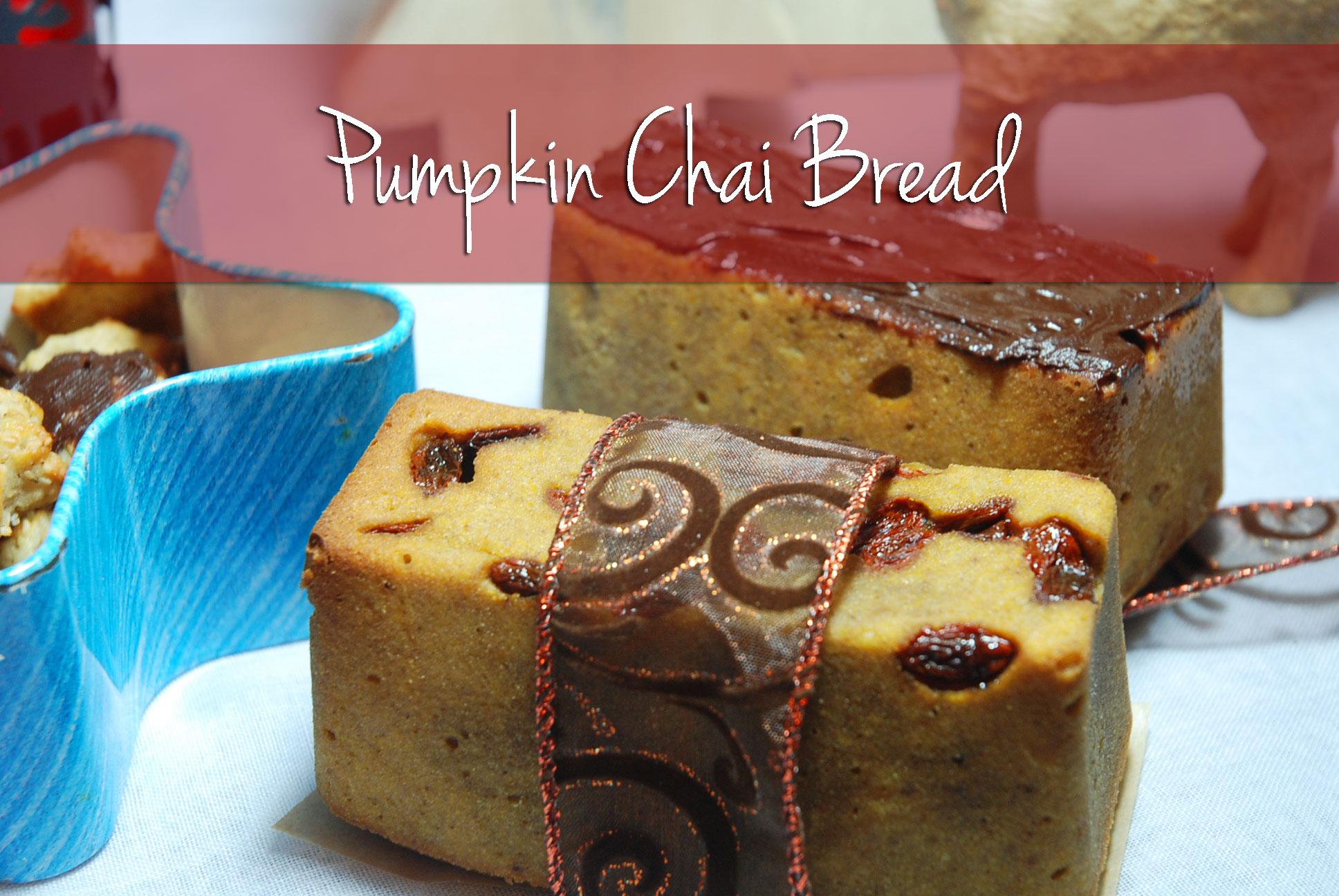 Kürbis-Chai-Brot / Pumpkin-Chai-Bread