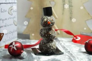 Essbarer Schneemann / Eat my snowman