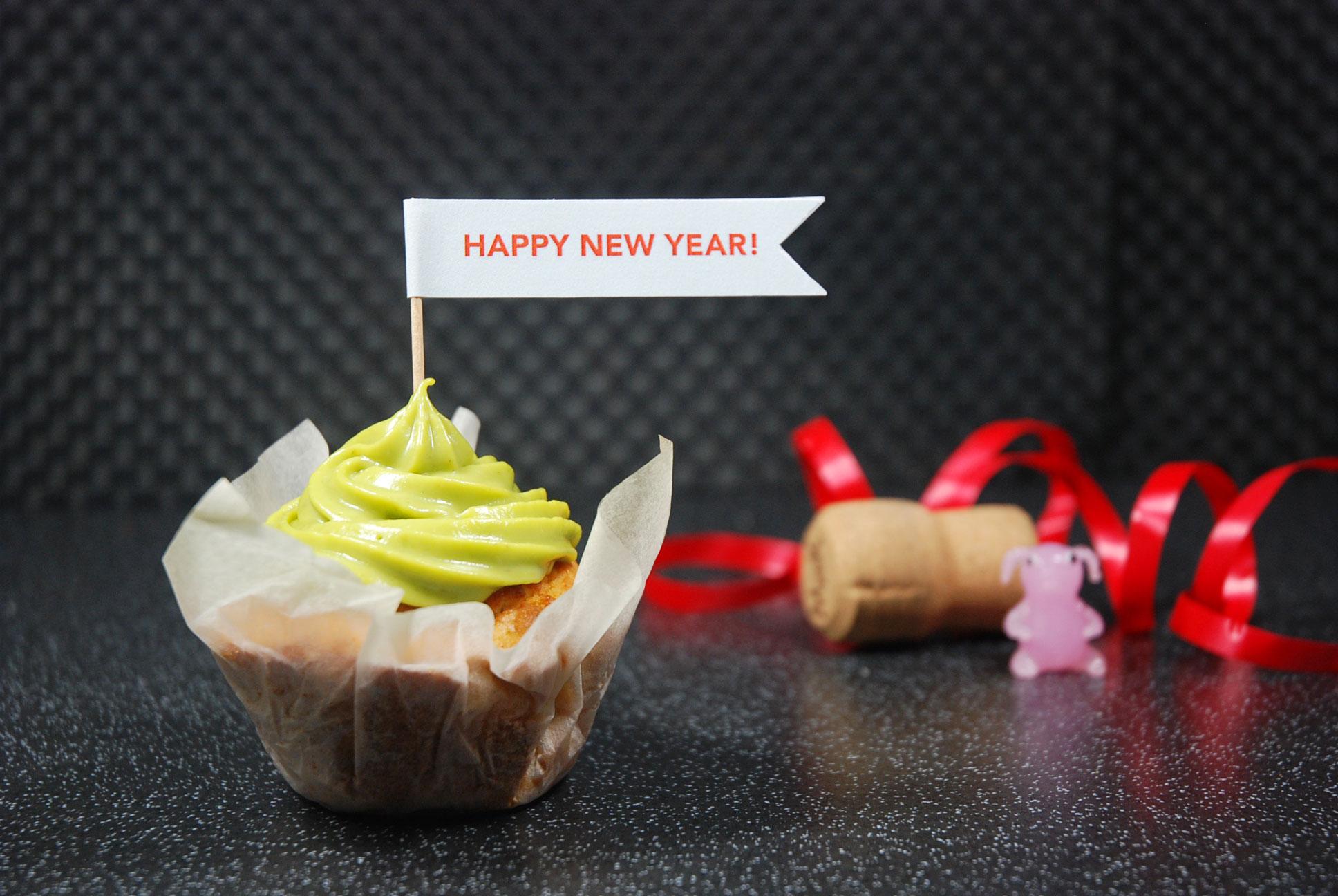 Sekt-Zitronen Muffins / Sparkling wine lemon muffins