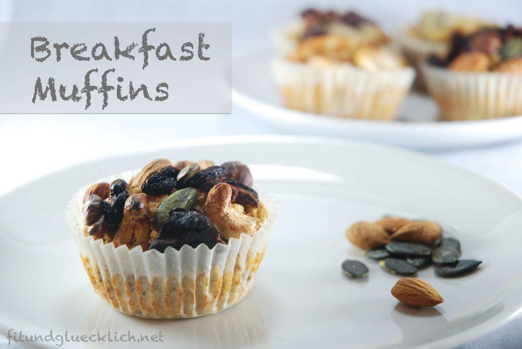 Frühstücks-Muffins / Breakfast muffins