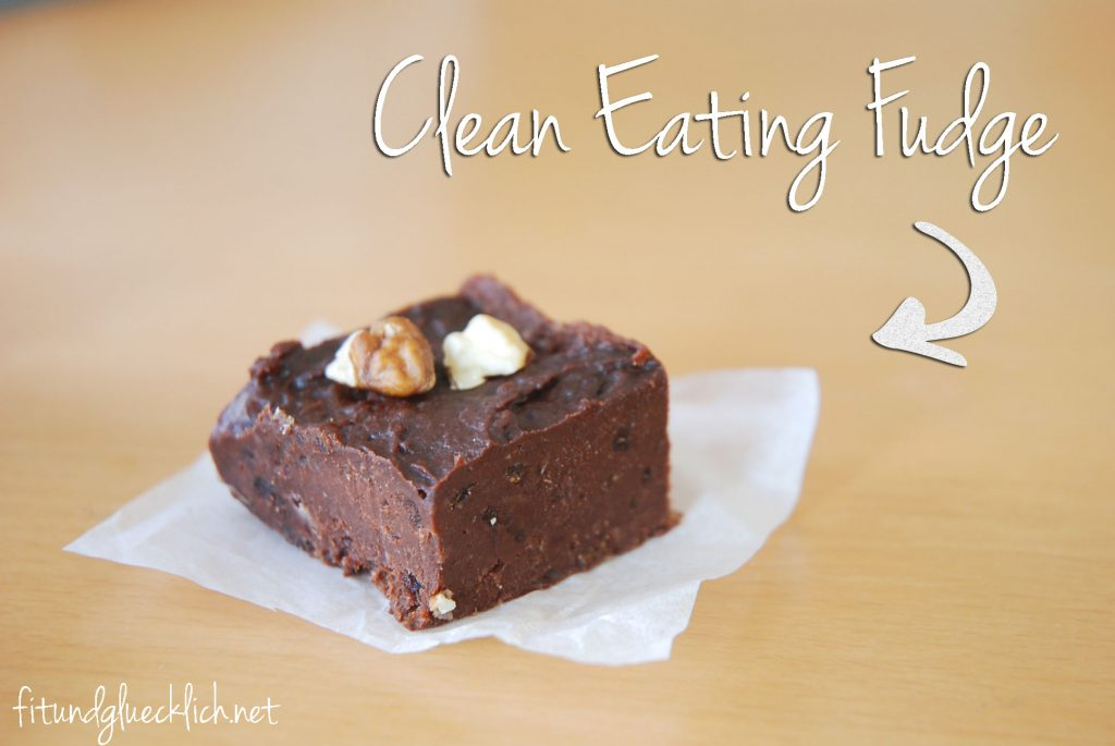 fudge, clean eating, fitundgluecklich.net, coconut oil, kokosöl