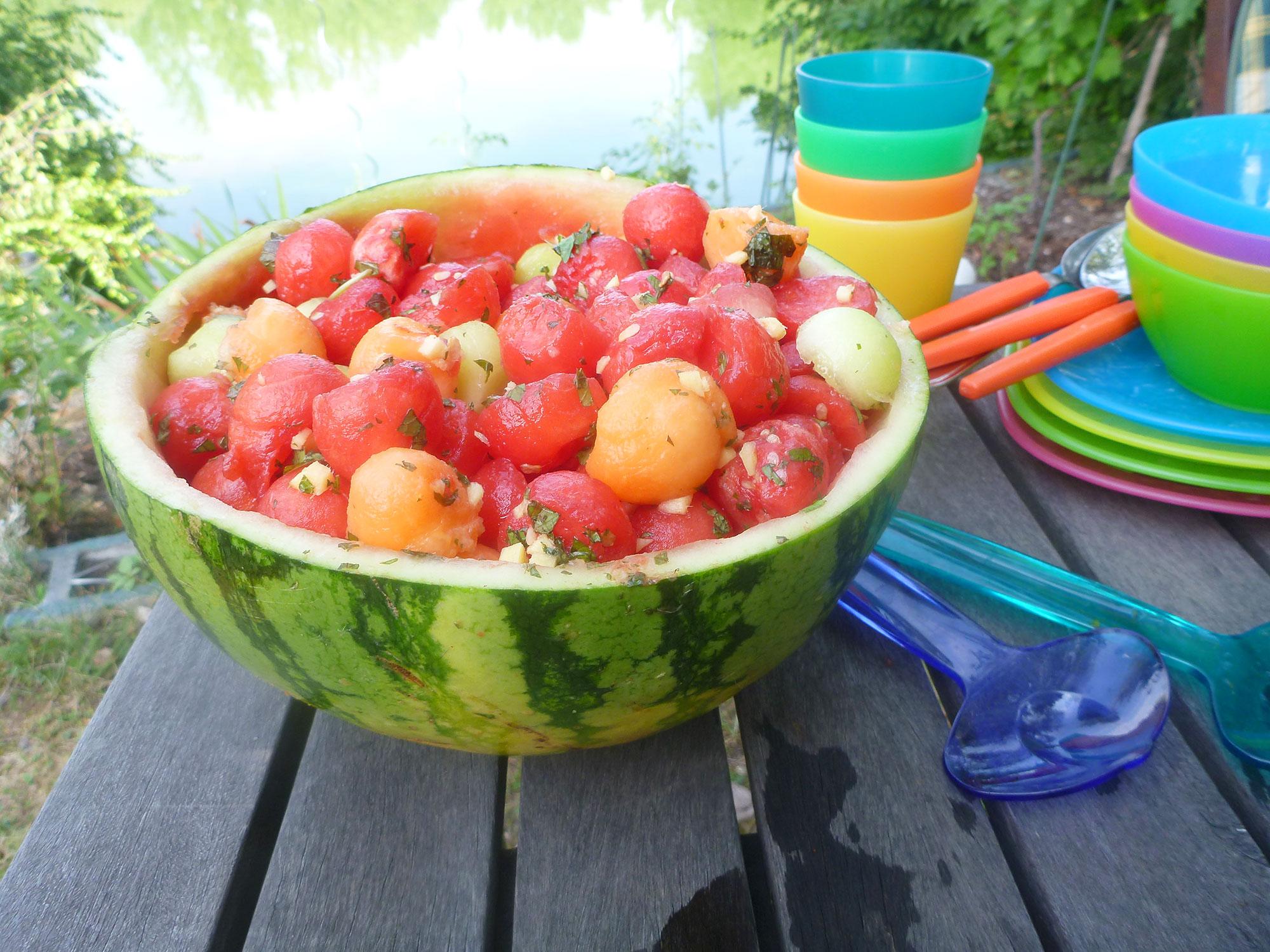 Melonensalat 2