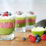 green smoothie, mousse, layered, fit&glücklich