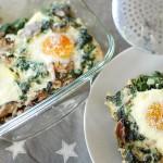 eier, eggs, spinat, spinach, clean eating, recipe, rezept, fit&glücklich