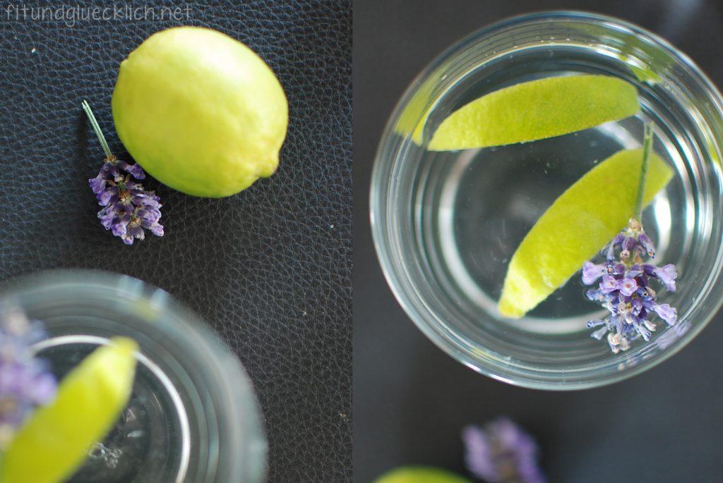 wasser, water, fit&glücklich, lime, limette, lavendel, lavender