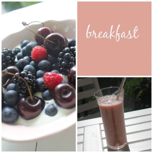 breakfast indulgent moments