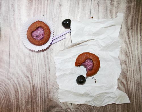 wundersuess schoko kirsch muffins 2
