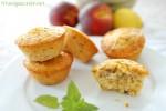 pfirsich, peach, cupcakes, melone, cantaloupe, fitundgluecklich.net