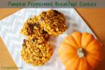 pumpkin, kürbis, peppermint, breakfast, frühstück, Pfefferminz, cookie, keks, fitundgluecklich.net, clean eating