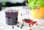 green smoothie, antioxidants, antioxidantien, glow, pomegranate, granatapfel, heidelbeeren, blueberry, fitundgluecklich.net, clean eating
