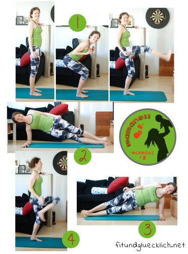 Mamaness Workout 9 Tabata