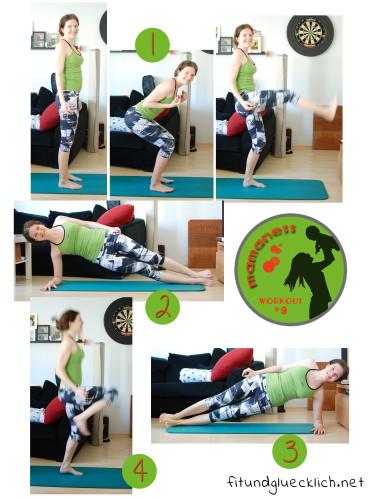 Mamaness Workout 9 Tabata