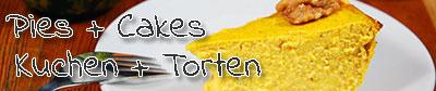 Banner-Kuchen-Torten