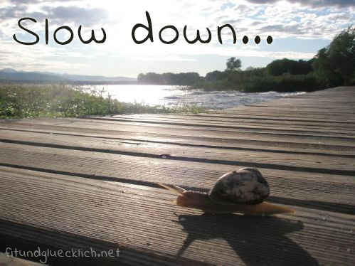 slow down lazy summer