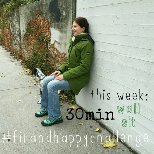 fitandhappychallenge, wall sit, workout, mamaness