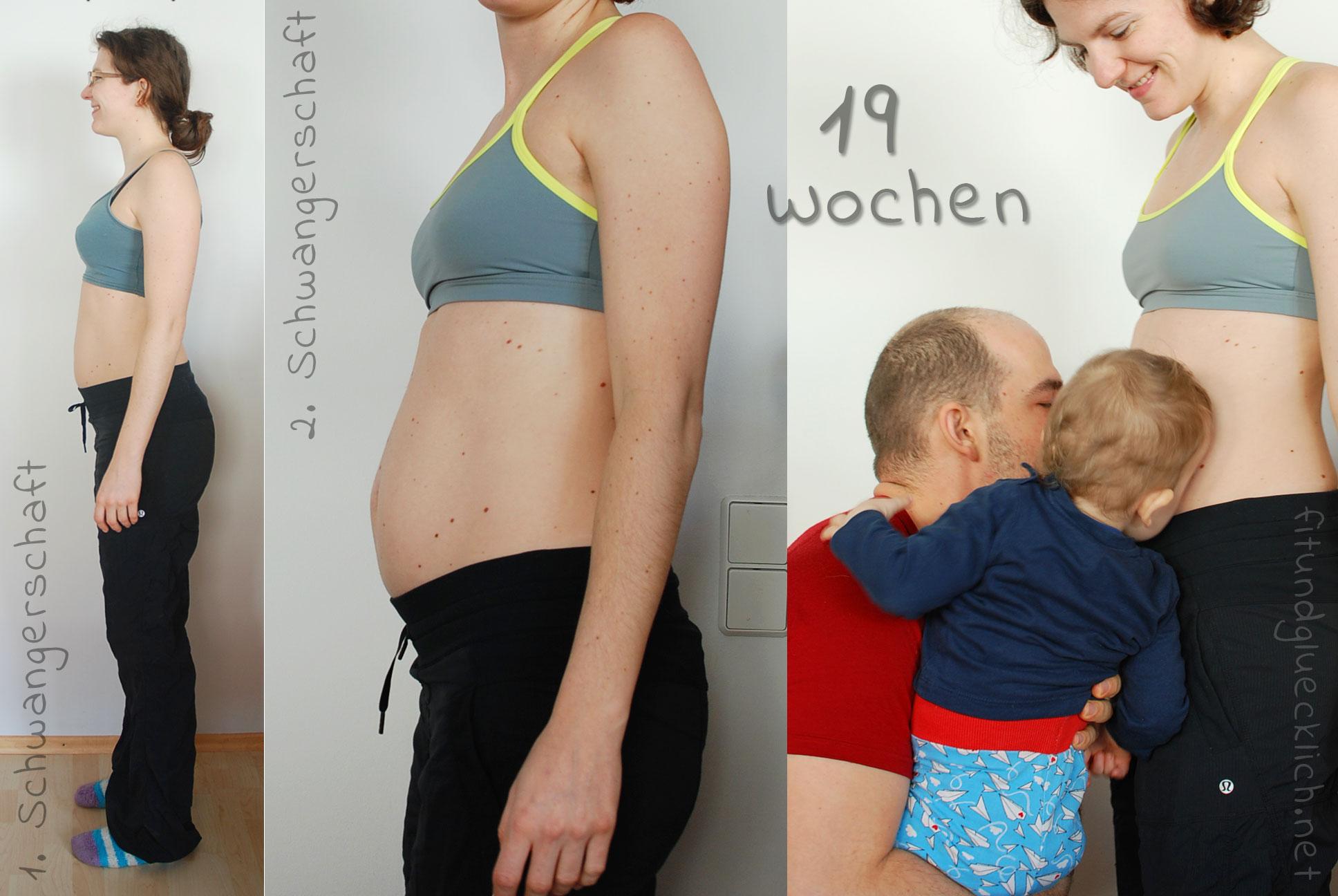 schwangeren bauch von woche zu woche