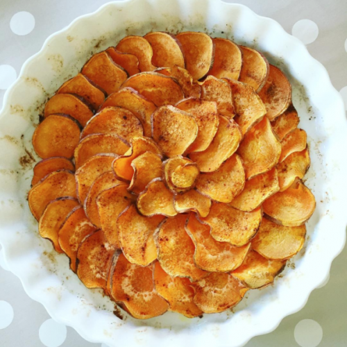 Süßkartoffelgratin
