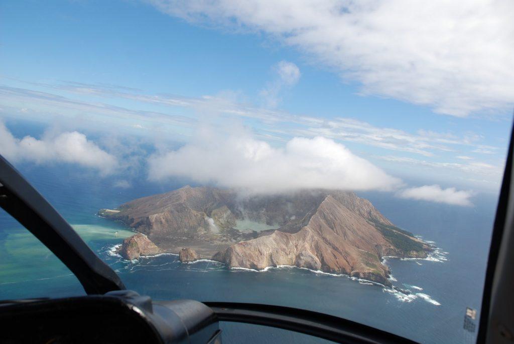 Hubschrauber White Island