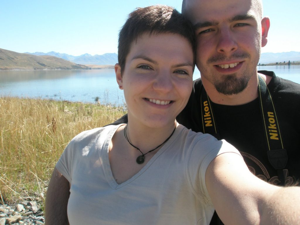 Ulli und Max Lake Tekapo