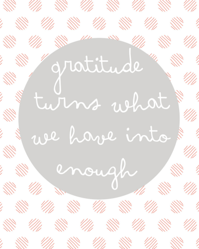 dankbarkeit