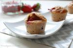 Die besten Erdbeer-Rhabarber-Muffins
