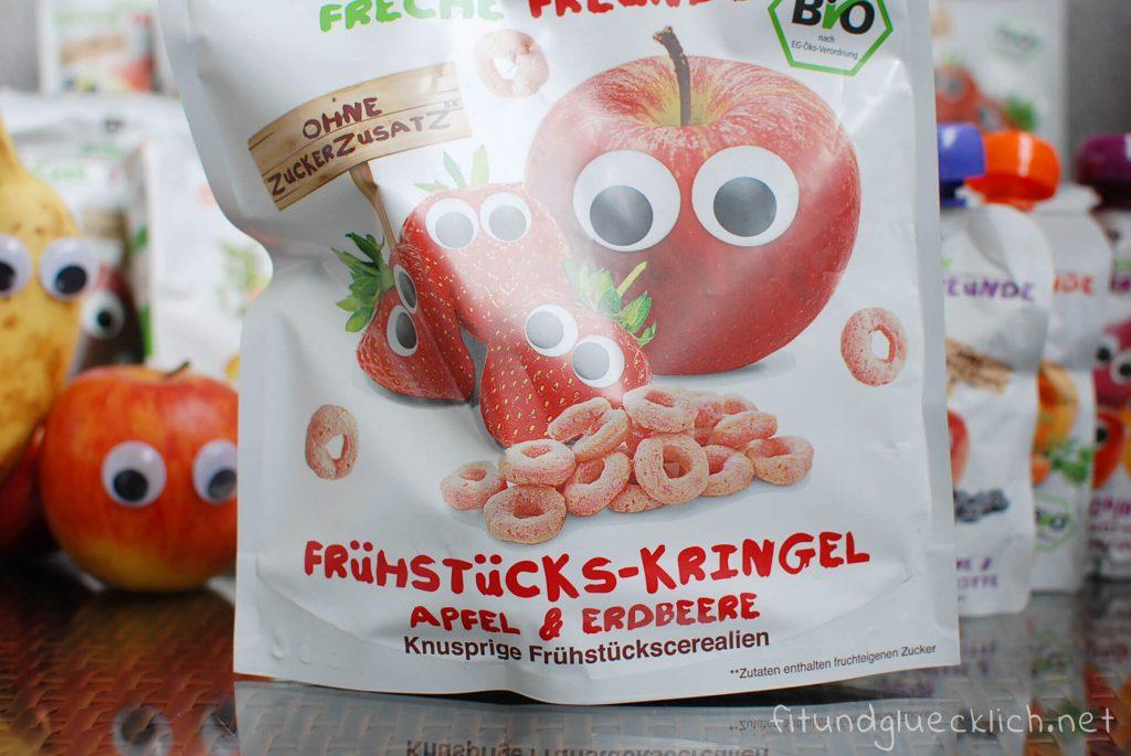 Freche Freunde Frühstücks Kringel Erdbeer