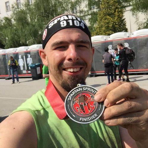 Spartan Race Wien Finisher Max mit Medaille