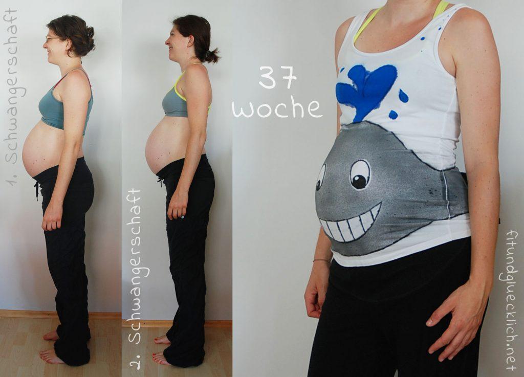 babybauch 37 Wochen schwanger