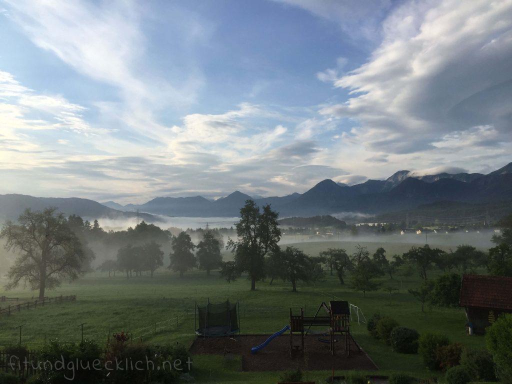 Aussicht Urlaub am Bauernhof Kärnten
