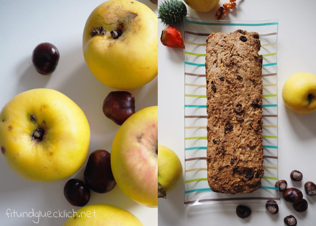 Clean Eating Apfel Lebkuchenbrot