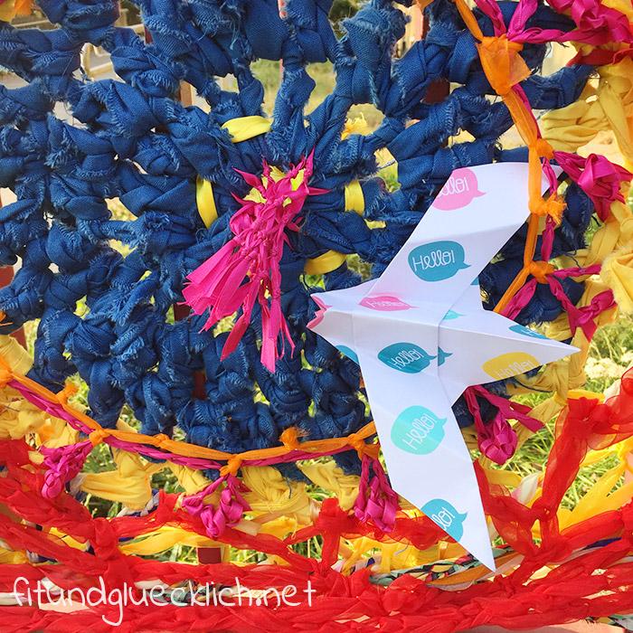 gleichechancen, Origami taube, für Flüchtlinge, sos kinderdorf
