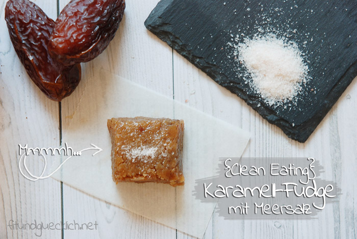 Clean Eating Karamell Fudge