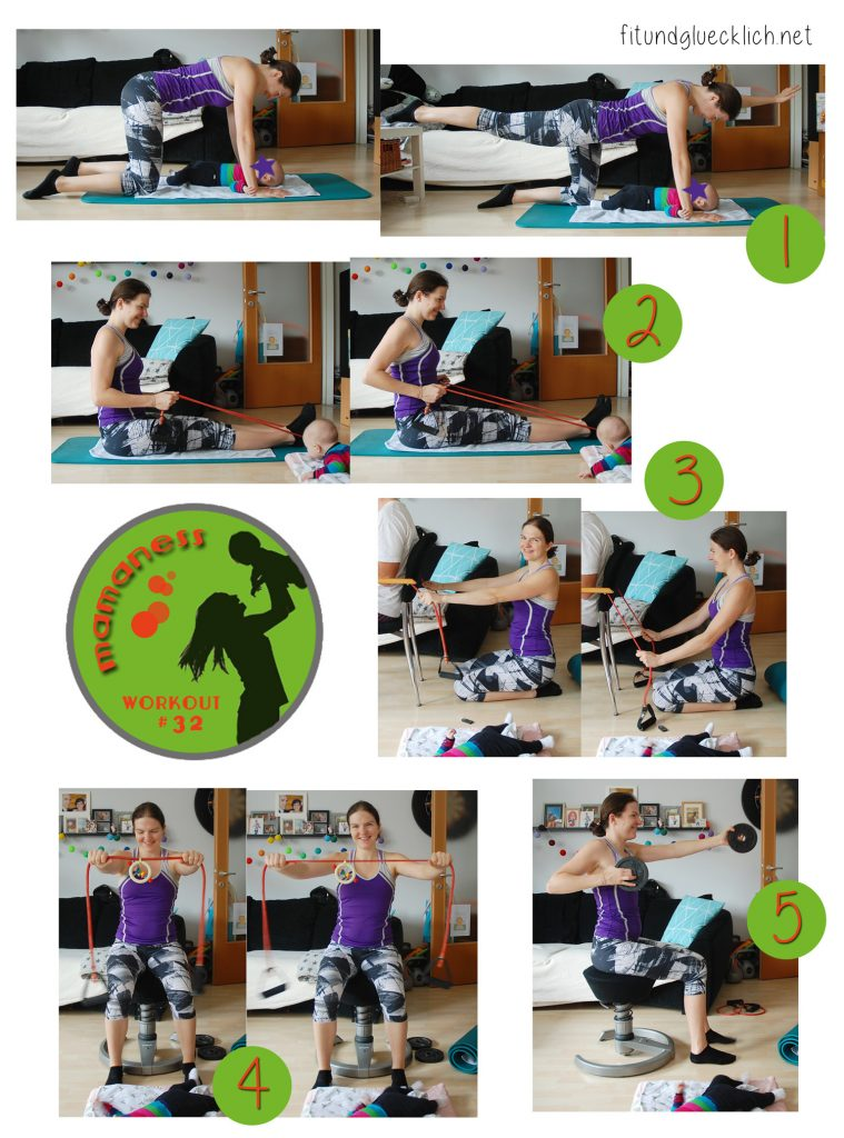 mamaness, workout mit baby, workout, fitness, mamafit