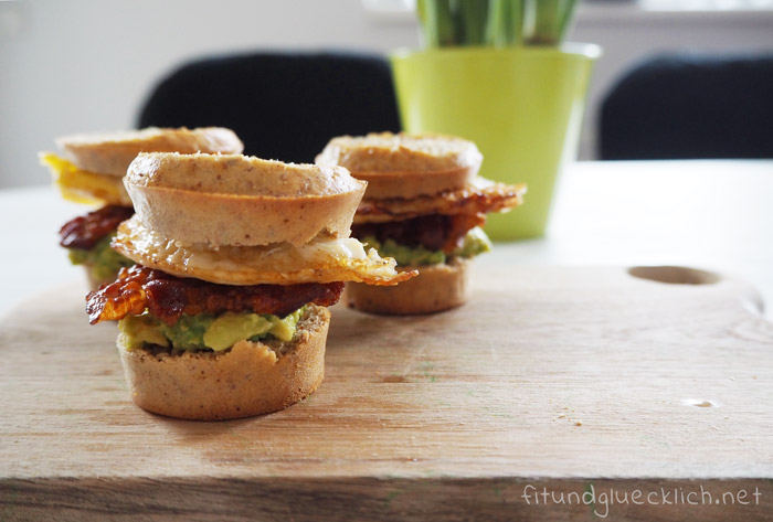 Bacon and Egg Muffins, Clean Eating, Gesund, copycat