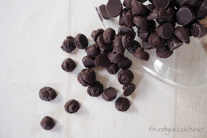 clean eating schokochips, chocolate chips, healthy