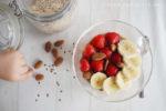 clean eating mandel vanille porridge