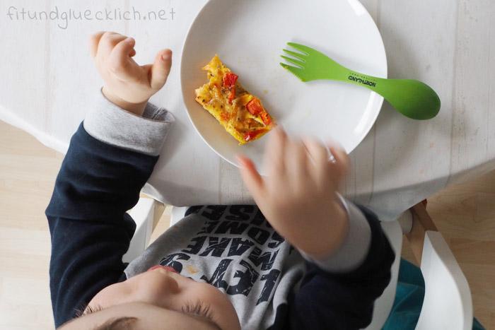 süßkartoffel, frittata, Finger, schnitten, clean eating, blw, familienrezept, kinderrezept, familientauglich