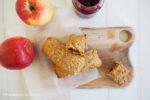 Müsliriegel mit Fruchtfüllung, Clean Eating, To Go, Snack, Gesund, Kinderrezept