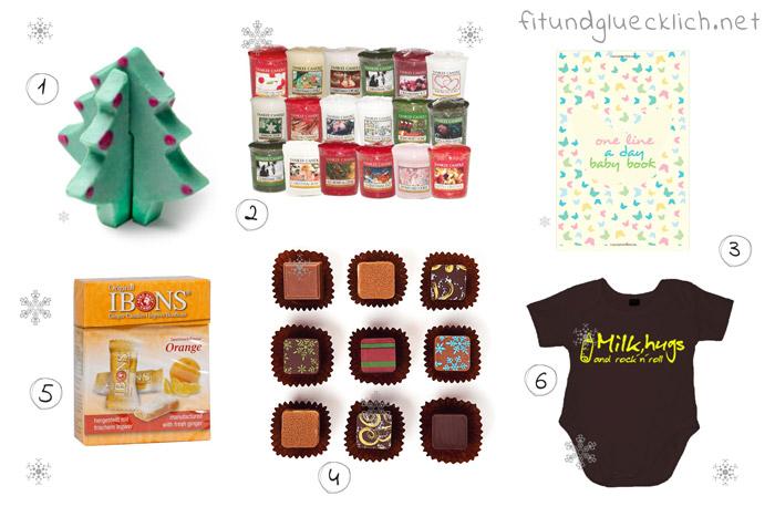 Geschenkideen, Geschenke, weihnachten, Schwangere