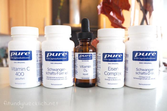 pure reinsubstanzen, Nahrungsergänzung, Supplement, Sport, Schwangerschaft, stillen