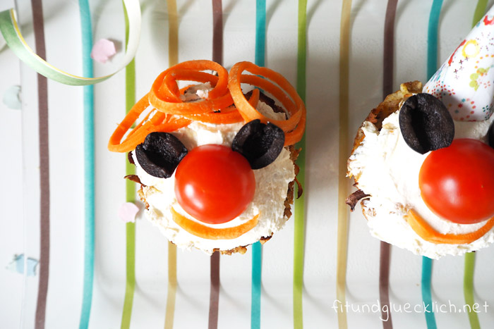 Fasching pikante Muffins