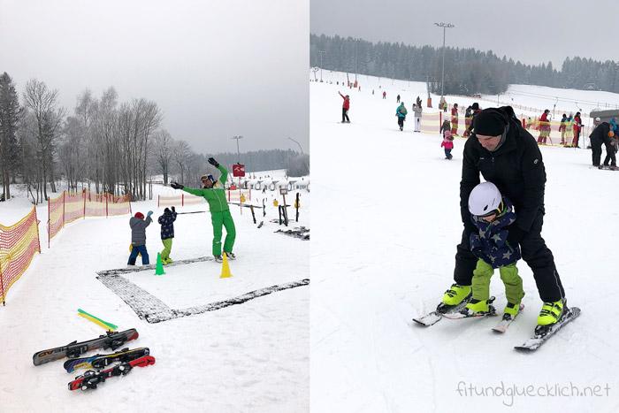 Sankt Corona Ski fahren