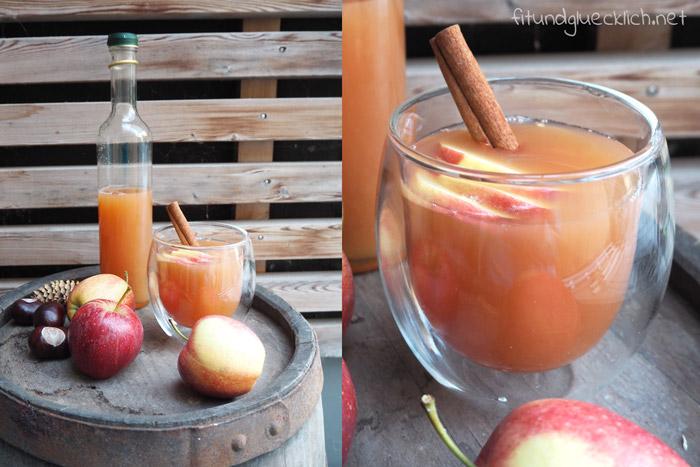 Gesunder Apfelpunsch für die ganze Familie