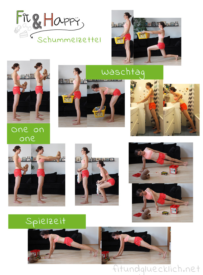 Workout Schummelzettel