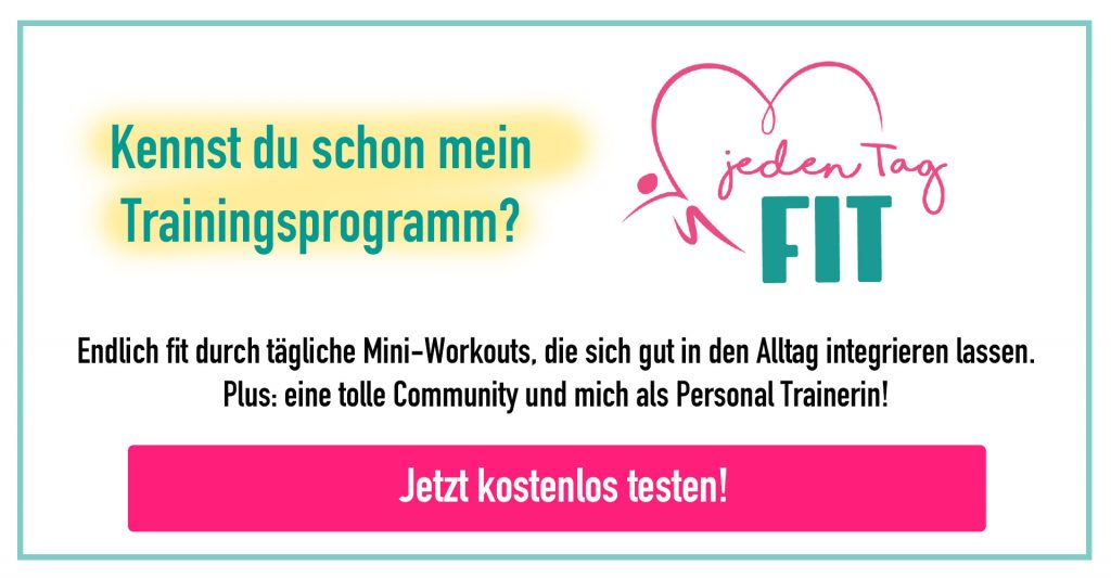 Jeden Tag Fit Programm