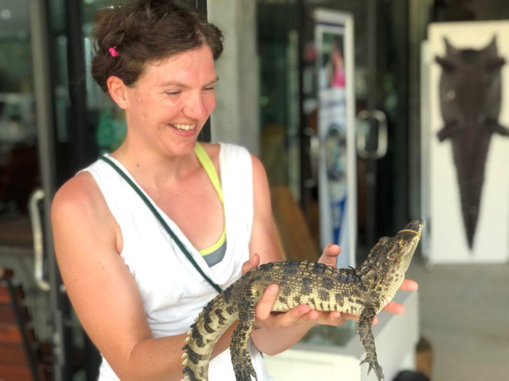 Krokodilfarm, Thailand