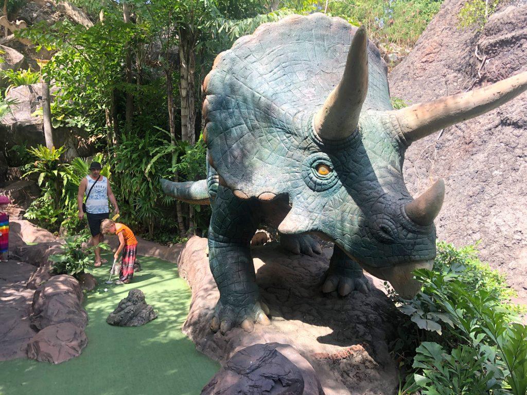 Dino Minigolf Phuket, Thailand