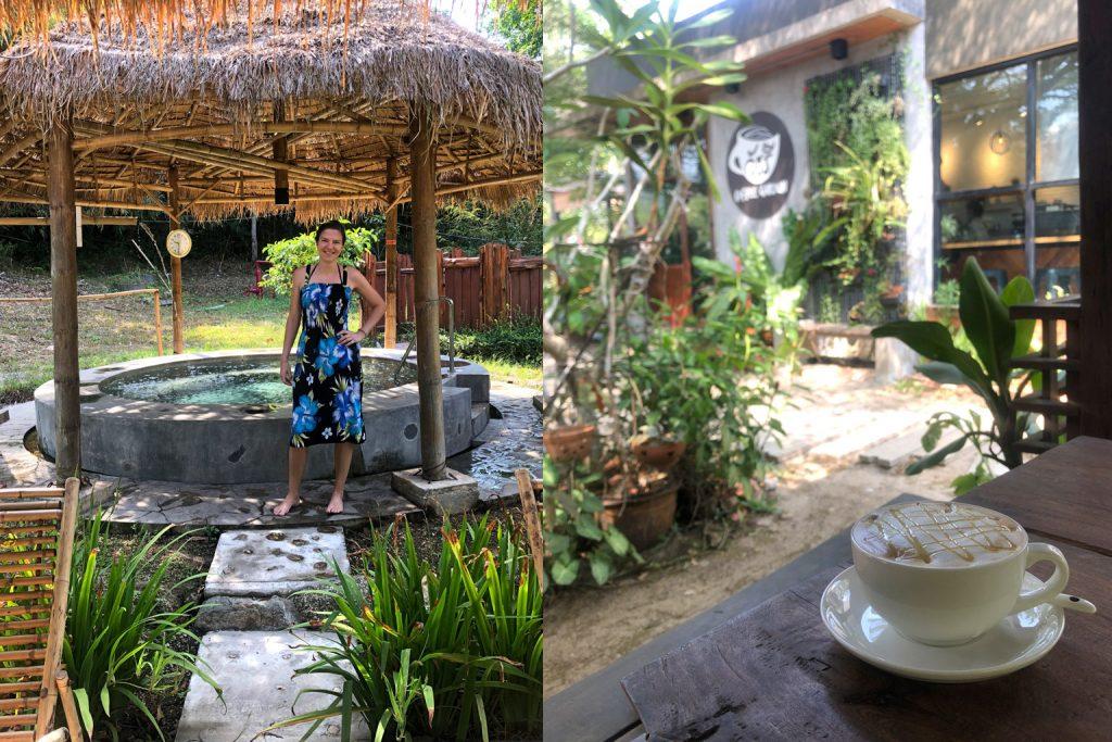 Hot Springs in Ranong und der Coffee Garden, Thailand